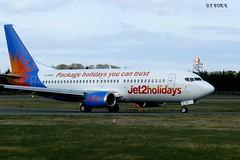 G-GDFO BOEING 737 (douglasbuick) Tags: 2 airport holidays edinburgh flickr aircraft jet panasonic boeing b737 egph dmcfz50 ggdfo