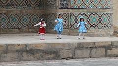 Nowruz dance in Bukhara, Uzbekistan
