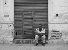 cuba (Nidal Jenaiah) Tags: barcelona street city blackandwhite bw person photography calle spain strasse cuba streetphotography potrait strassenfotografie