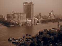 The Nile river Runs directly thru Cairo, that make this a good transportation hub in and out of The city!
