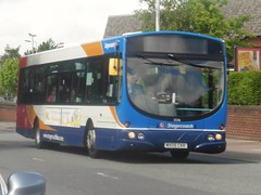 Stagecoach 21236 - MX05 CKK (North West Transport Photos) Tags: 2005 road urban bus manchester 1 volvo village south first lancashire chester service wright stagecoach wirral merseyside ckk eclispe bromborough 21236 b7rle 66877 mx05 stagecoachmerseyside stagecoachmerseysideandsouthlancashire