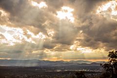CanberraRays (MattFinishPhotos) Tags: sky cloud sunlight mountain hiking canberra mtainslie