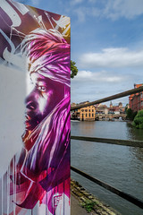 Street art by Dan23 ! (Stphane LANDMANN) Tags: dan23 street graff graffiti graffeur artiste art streetart peintre peinture extrieur downtowngraffiti spray aquarelle