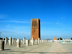 Hassan Tower (fmatah) Tags: travel morocco rabat hassantower