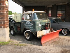 """""""Chilly Willy"""" - The Kaiser's Stable Mate (ilgunmkr - Thanks for 4,000,000+ Views) Tags: truck jeep 1950s coe carshow willys cruisenight 2016 earlvilleillinois"""