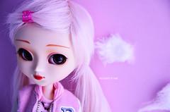 Pinky | Pullip Kirsche (Kumo~Milk^^) Tags: pink doll eyelashes sugar wig groove gloss pullip kirsche obitsu eyechips junplanning rewigged rechipped