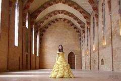 The ballroom (Emi Book) Tags: beauty beast disney castle ballroom salle de bal chateau belle bte robe dress cosplay