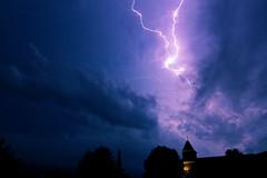 Orage du 24 juin 2016 - 22h15 (Didier Auberget Photographie) Tags: sky lightning thunderstorm clair orage ciel nuages clouds
