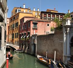 Roof Terrace, Venice (bikerchisp) Tags: venice italy ital italia venise canals lagoon bridges gondola holiday vacation europe adriatic sea water waterways streets blue sky bluesky sunshine bikerchisp