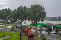 12/07/2016 | Dordrecht (SB-2013) Tags: dordrecht dokweg db cargo trein 6400 6478 standic