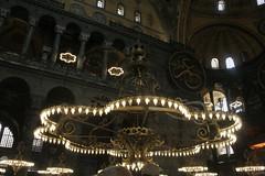 (FdL93) Tags: lights hagiasofia istanbul architecture