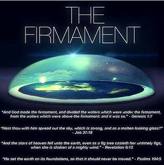 The Firmament (ipressthis) Tags: sun moon glass truth flat wind dome bible waters curve yinyang memes figs molten curvature foundations flatearth firmament nocurve flatearthonline