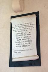 Thursford, Norfolk, UK (mira66) Tags: england church monument norfolk warmemorial eastanglia standrew thursford