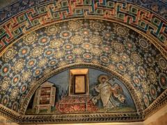 Mausoleum Panel 2 (stephencurtin) Tags: mausoleum galla placidia mosaics panel ceiling