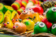 Marzipan faces :)) (DingoShoes - life's a dream) Tags: marzipan candy faces colours colourful delightful laboqueria boqueria mercado market barcelona spain cute beautiful delicious yummy travel travelphotography traveldestination holidaysnap holiday memories ilovephotography foryou missyou nikond7000 afsnikkor18105mm13556ged