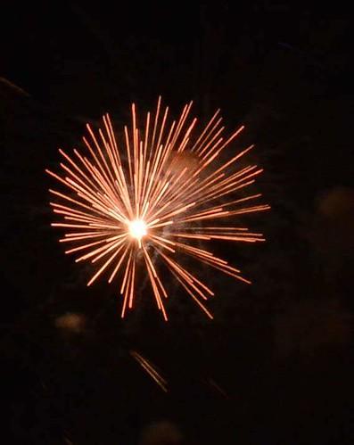 Fireworks in Opladen