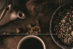 Coffee Beans (Beethhoven Mendez Photography) Tags: coffee coffeebeans beans dark moody rustic vintage coffeelover stockphotos kape bean