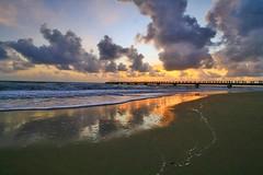 IMG_9298 ~ masanya mungkin sudah tiba (aca111) Tags: beach kijal kemaman terengganu malaysia travel places trip canon eos eos700d canoneos700d canonlens 10mm18mm wideangle sunrise morning resortworldkijal
