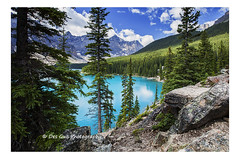 Moraine Lake, Banff National Park (PhotoDG) Tags: morainelake banffnationalpark banff lake nationalpark glacier glacierfed olour rockymountain canadianrockies alberta landscape wideangle