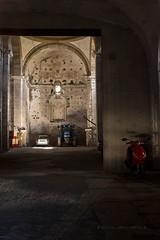 Reutilizacin (miguelangelortega) Tags: luz fuji iglesia fujifilm casual coches cuenca motos garaje bside huete x100s