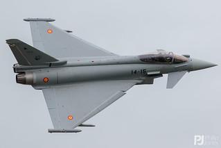Spanish Air Force EF-2000 Typhoon S C.16-55