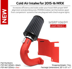New product - Perrin Cold Air Intake for 2015-16 WRX Officially Released (vividracing) Tags: system filter subaru modification tuning wrx sti perrin intake coldair 2016 2015 brz kampn