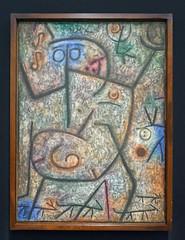 Paul Klee - Oh! Les rumeurs! - Oh! These rumors! (Monceau) Tags: paulklee ohlesrumeurs rumors fear painting centrepompidou