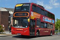 TWM AD Enviro 400 4802 BX09PDZ - Birmingham (dwb transport photos) Tags: nationalexpress travelwestmidlands alexander dennis enviro bus decker 4802 bx09pdz birmingham