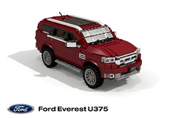 Ford Everest (U375 - 2015) (lego911) Tags: frod motor company everest u375 2015 2010s suv sport utility vehicle wagon offrad awd 4wd 4x4 auto car moc model miniland lego lego911 ldd render cad povray lugnuts challenge 105 thegreatoutdoors great outdoors cross country foitsop ford offroader