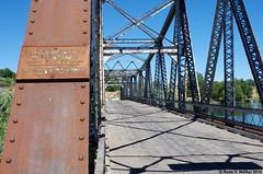 Owsley Bridge on the Idaho Pacific Highway (walkerross42) Tags: sign bridge owsleybridge idahopacifichighway snakeriver hagerman idaho abandoned