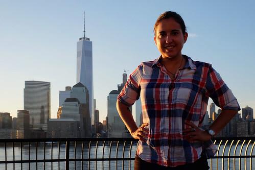 Downtown Manhattan sunrise