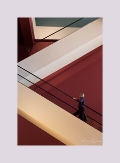 Escalators at the Exhibition