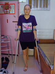 cn3367003671413763947 (cb_777a) Tags: amputee disabled handicapped onelegged crutches cancer survivor china