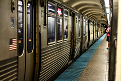 The Tracks Below (smileyLife) Tags: chicago illinois red line train subway clark street underground pov moving fast public transport america old