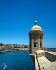 Lookout (Michael N Hayes) Tags: malta valletta mediterranean europe summer fujifilmxpro1 sea culture city