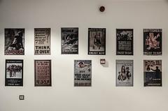 Think it Over (Allison Mickel) Tags: nikon d7000 adobe lightroom edited turkey gallipoli history museum war wwi battle posters recruitment