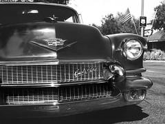 Caddy (LXG_Photos) Tags: analog fpp monochrome postive svema eos3 film cruisingrand escondido fppsuperpositiveslidefilm positivebw auto car cadillac