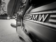 BMW k1100 lt (Vicktor Abrahams) Tags: bmw blackandwhitephotos nikon coolpix p7000 motorbike motorcycle