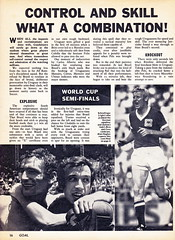 Goal Magazine - 27/06/1970 - Page 16 (The Sky Strikers) Tags: goal magazine world cup special mexico 1970 greatest soccer weekly magzine 1s 6d