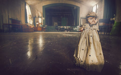 Stage Fright (Mars Lander) Tags: stage doll swansong curtaincall demolished canon7d tokina old vintage