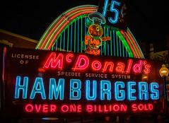 Original McDonald's Sign (janedsh) Tags: ohio sign advertising places mcdonalds hamburgers cincinnatti speedee americansignmuseum holmanphotoscom holmanphotography