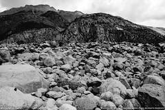 Many many many stones (Captain&Winnie Images) Tags: blackandwhite bw mountain nature rock stone vintage landscape