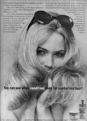 Clairol Condition - 1970 (rchappo2002) Tags: girl beauty fashion vintage magazine hair advertising style sunburned retro advertisement shampoo commercial advert sunburn 70s 1970 seventies conditioner lotion treatment clairol