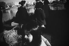 Untitled (ajkpix) Tags: sanfrancisco california street urban blackandwhite bw candid palaceoffinearts scattidistrada