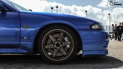 Nissan Skyline GT-R33 (1) (GonzaloFG) Tags: detail slr ford chevrolet car sport skyline honda spain italia nissan evolution ferrari camaro mclaren enzo bmw gto jaguar mustang m3 ducati audi lamborghini rs m6 m5 challenge m4 avant v8 rs2 spotting s2000 e30 nsx gallardo amg drifting rs4 typer gtr trackday murcielago etype quattro gt40 f40 r8 f12 rs6 v12 f50 cosworth nismo e46 r34 e36 berlinetta superleggera 458 899 m3csl desmosedici panigale ftype 275gtb rs3 e92 worldcars circuitodeljarama stralade m235i