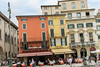 The Piazza Bra Verona