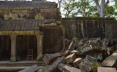 Which Of These Don't Belong? (kaleydoscopic) Tags: old history abandoned stone architecture rural buildings religious temple ancient nikon ruins cambodia khmer decay angkorwat fallen empire rubble d3300