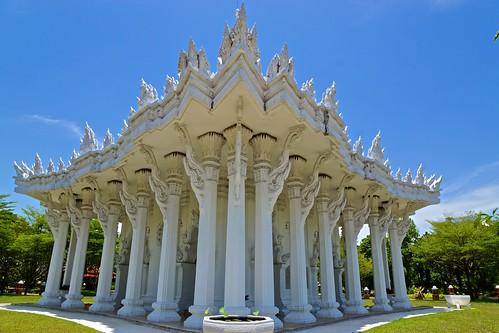 Phra That Mondop in Muang Boran (Ancient Siam) in Samut Prakan, Thailand