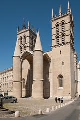 Cathédrale Saint-Pierre, Montpellier (jacqueline.poggi) Tags: france architecture cathedral gothic montpellier cathédrale gothique languedoc languedocroussillon hérault architecturereligieuse cathédralesaintpierredemontpellier