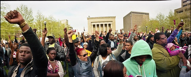 FREDDIE GRAY peaceful protests 4/26